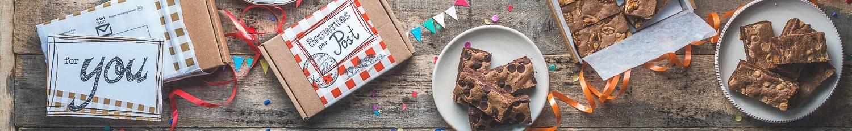 Brownies per Posts achtergrond