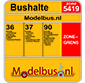 Modelbus.nl uw halteplaats voor exclusieve busmodellen.
